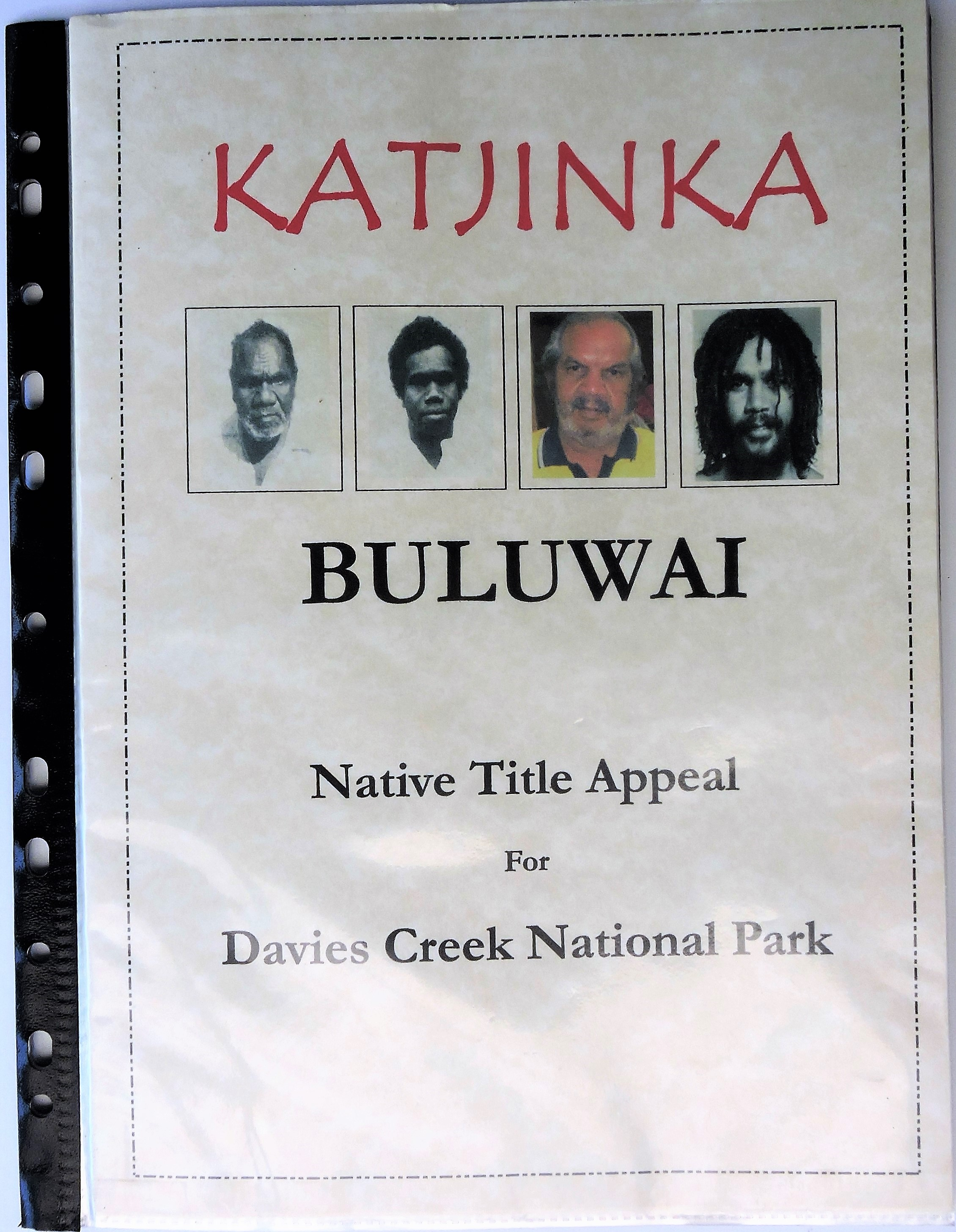 Willie-Brim-Bulwai-Buluwai-Native-Title-Appeal-Davies-Creek-National-Park